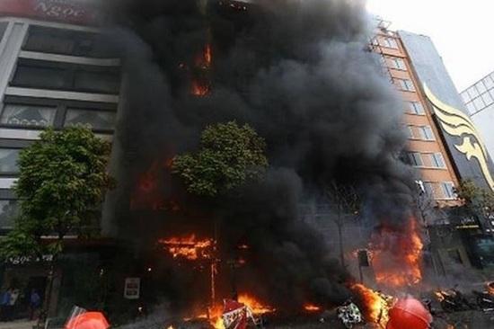 Vụ cháy 13 người chết ở Trần Thái Tông: Các bị cáo chưa bồi thường cho gia đình nạn nhân - Ảnh 3