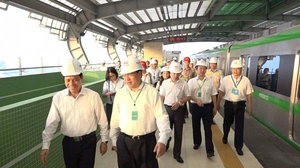Lý do đồng loạt chạy thử 5 đoàn tàu Cát Linh - Hà Đông - Ảnh 2