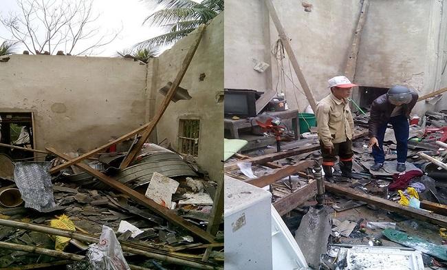 Vụ nghi nổ pháo ở Hà Tĩnh: Người chồng kinh hãi nhìn thấy vợ và con nằm giãy giụa trên sàn nhà - Ảnh 2