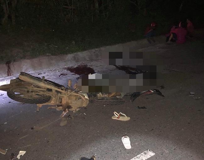 Quảng Trị: Tai nạn xe máy kinh hoàng, 4 người tử vong tại chỗ, 2 người bị thương - Ảnh 1