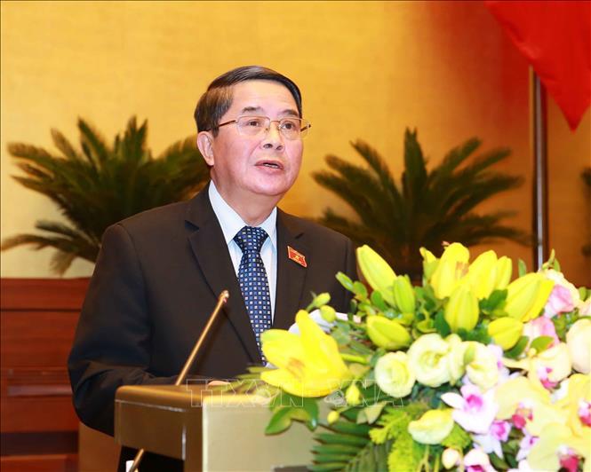 Kỳ họp thứ 8, Quốc hội khóa XIV: Bảo đảm vững chắc nguồn thu ngân sách nhà nước - Ảnh 1