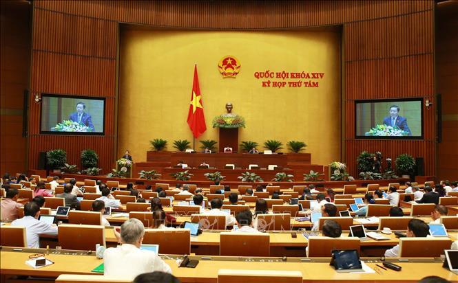 Kỳ họp thứ 8, Quốc hội khóa XIV: Bảo đảm vững chắc nguồn thu ngân sách nhà nước - Ảnh 3