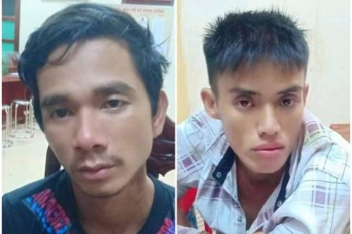 Quảng Nam: Đội CSGT truy đuổi, tóm gọn 2 đội tượng cướp giật tài sản của người đi đường - Ảnh 1