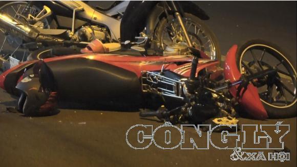 Bình Dương: Hai xe máy tông trực diện, 4 người nguy kịch - Ảnh 1