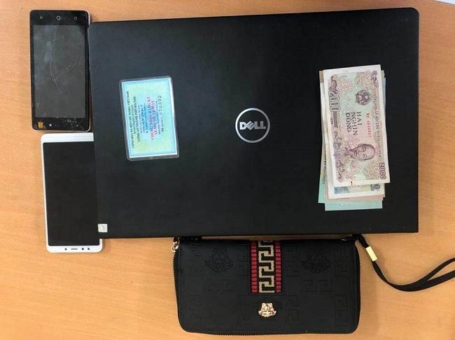 Hà Nội: Vừa trộm laptop của công an, nữ đạo chích 9x bị tóm gọn - Ảnh 2