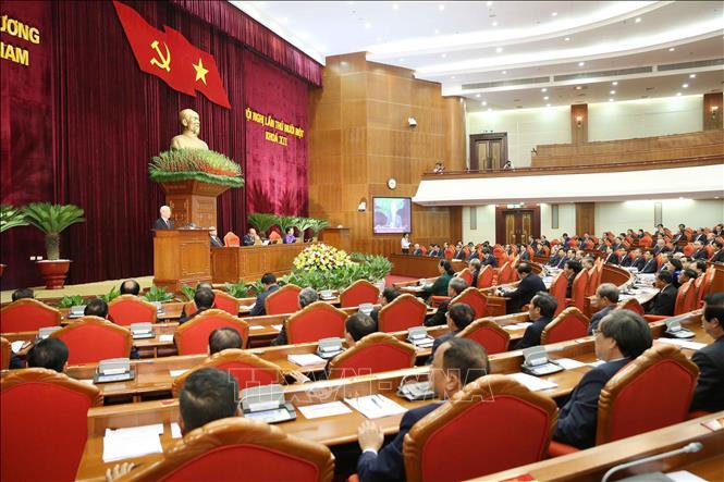Hội nghị Trung ương 11 Khóa XII: Tiếp tục đẩy mạnh toàn diện, đồng bộ sự nghiệp đổi mới - Ảnh 1