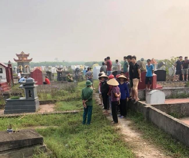 Hưng Yên: Phát hiện thi thể người phụ nữ ở nghĩa trang, nghi bị sát hại vì ghen tuông - Ảnh 1