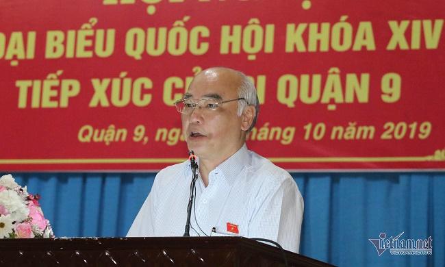 TP.HCM: Cử tri đề nghị cho ông Tất Thành Cang thôi nhiệm vụ đại biểu HĐND - Ảnh 2