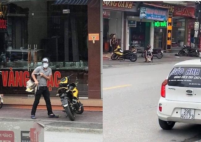 Quảng Ninh: Truy tìm đối tượng táo tợn mang súng xông vào cướp tiệm vàng - Ảnh 1