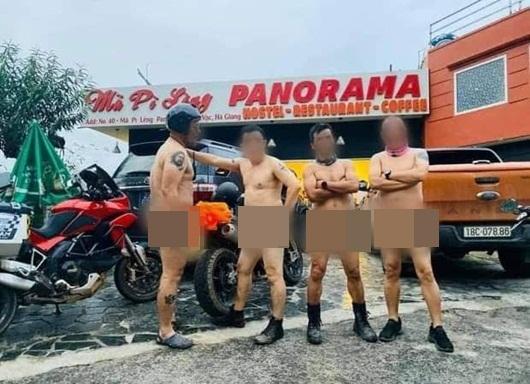 Vụ 4 người đàn ông khỏa thân ở Mã Pì Lèng: Sở Thông tin và Truyền thông Hà Giang lên tiếng - Ảnh 1