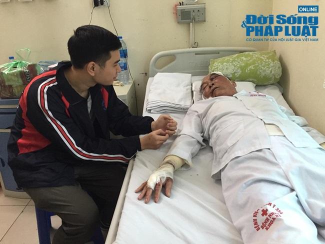 Vụ cụ ông 80 tuổi bị xe ôm hành hung: Con mất trong vụ án mạng, vợ chồng già còm cõi nuôi nhau  - Ảnh 4