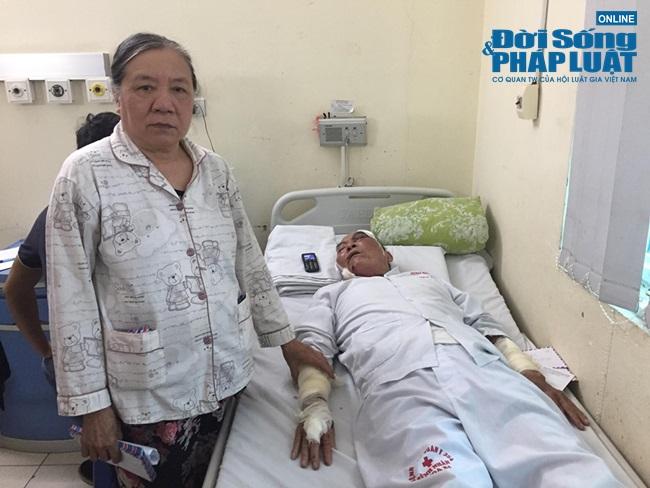 Vụ cụ ông 80 tuổi bị xe ôm hành hung: Con mất trong vụ án mạng, vợ chồng già còm cõi nuôi nhau  - Ảnh 2