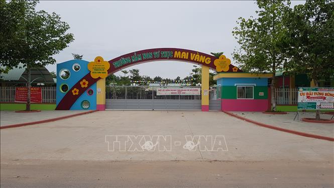 Vụ cô giáo bị tố đâm vật nhọn vào tay trẻ: Đình chỉ hoạt động trường mầm non tư thục - Ảnh 1