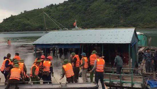 Quảng Ninh: Điều tra vụ người dân ném bom xăng vào đoàn cưỡng chế khiến 3 cán bộ bị thương - Ảnh 1