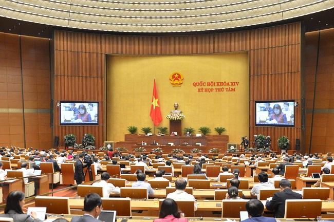 Bế mạc kỳ họp thứ 8 Quốc hội khóa XIV sau 28 ngày làm việc - Ảnh 1