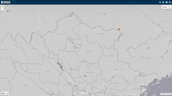 Cao Bằng xảy ra động đất 4,7 độ richter, Hà Nội bị rung chấn nhẹ - Ảnh 1