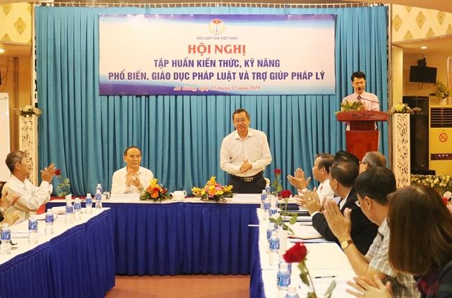 Hội Luật gia Việt Nam tổ chức tập huấn kiến thức, kỹ năng phổ biến, giáo dục pháp luật và trợ giúp pháp lý - Ảnh 1