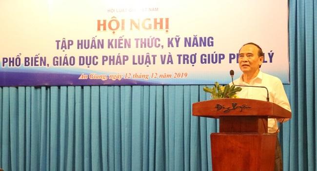 Hội Luật gia Việt Nam tổ chức tập huấn kiến thức, kỹ năng phổ biến, giáo dục pháp luật và trợ giúp pháp lý - Ảnh 3
