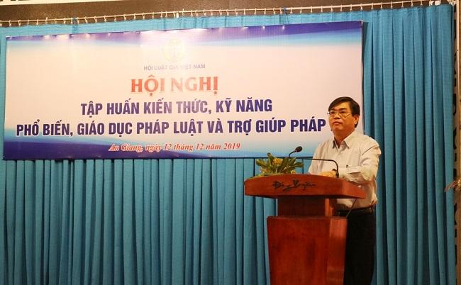Hội Luật gia Việt Nam tổ chức tập huấn kiến thức, kỹ năng phổ biến, giáo dục pháp luật và trợ giúp pháp lý - Ảnh 5
