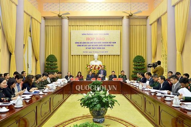 11 Luật được Quốc hội khóa XIV, kỳ họp thứ 8 thông qua - Ảnh 1