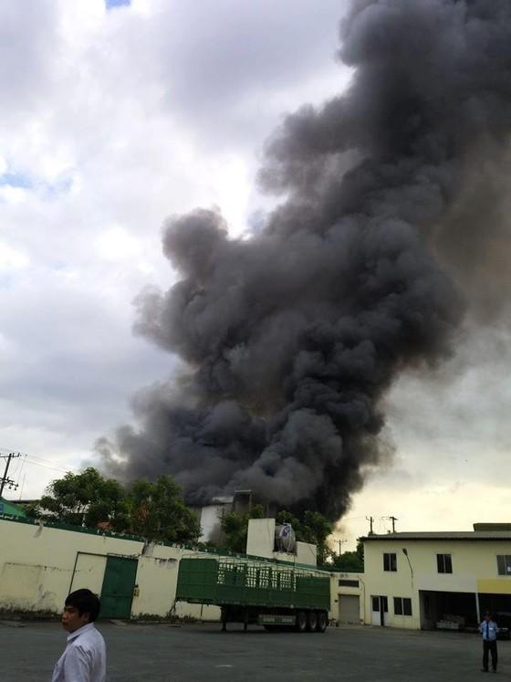 Cháy lớn tại công ty bánh kẹo ở Bình Dương, nhà xưởng hàng nghìn mét bị thiêu rụi - Ảnh 2