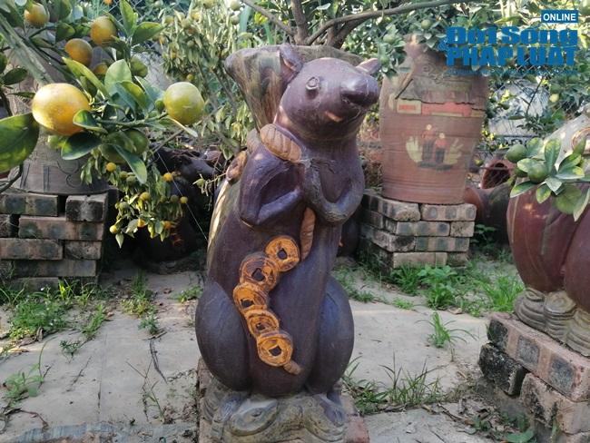 """Hút mắt với dàn cây """"chuột cõng quất bonsai"""" chưng ngày Tết - Ảnh 7"""