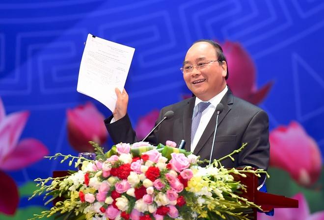 Thủ tướng chủ trì hội nghị với doanh nghiệp - Ảnh 1