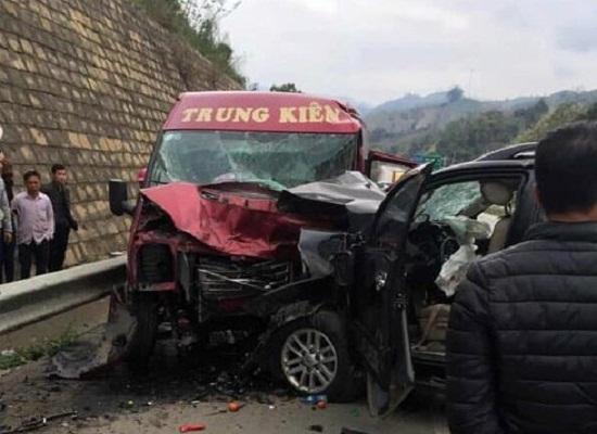 Vụ tai nạn trên cao tốc 12 người thương vong: Tài xế xe 7 chỗ có nồng độ cồn trong máu - Ảnh 1