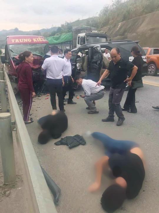 Vụ tai nạn trên cao tốc 12 người thương vong: Tài xế xe 7 chỗ có nồng độ cồn trong máu - Ảnh 2