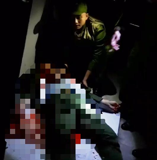 Nghệ An: Trung úy công an bị đâm trọng thương khi đang hòa giải cho đôi vợ chồng - Ảnh 2