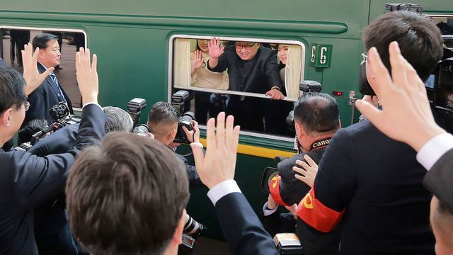 Báo Nga: Chiều nay (23/2), tàu bọc thép chở ông Kim Jong-un đã rời Bình Nhưỡng đi Hà Nội - Ảnh 1