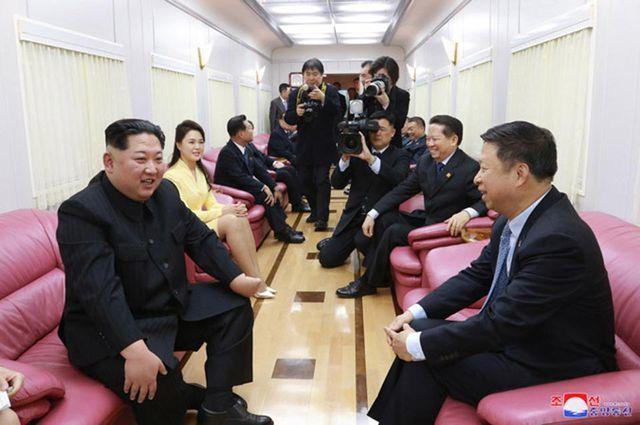 Báo Nga: Chiều nay (23/2), tàu bọc thép chở ông Kim Jong-un đã rời Bình Nhưỡng đi Hà Nội - Ảnh 2