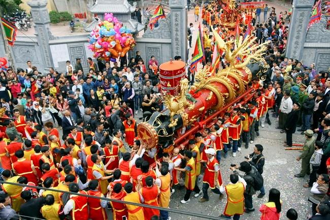 Những lễ hội cổ truyền đặc sắc sau Tết Nguyên đán trên khắp cả nước - Ảnh 1