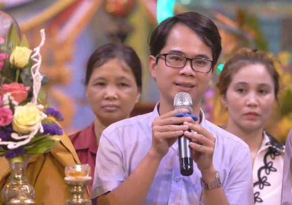 """Phỏng vấn các """"nhân chứng"""" xuất hiện trong buổi livestream tại chùa Ba Vàng - Ảnh 2"""
