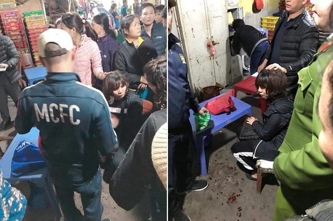 Hà Nội: Điều tra nghi án một đối tượng bịt mặt nổ súng, cướp tiền tại chợ Long Biên - Ảnh 2