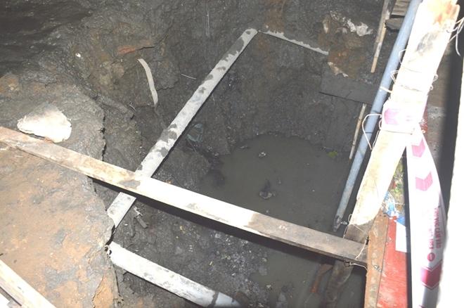 Sóc Trăng: Phát hiện nhiều mẫu vật nghi xương người dưới hố sâu - Ảnh 2