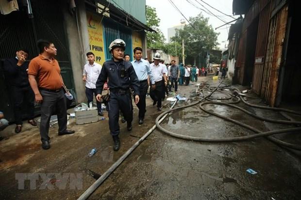 Vụ cháy 8 người chết và mất tích ở Hà Nội: Xót xa người mẹ mất cả con và cháu - Ảnh 2