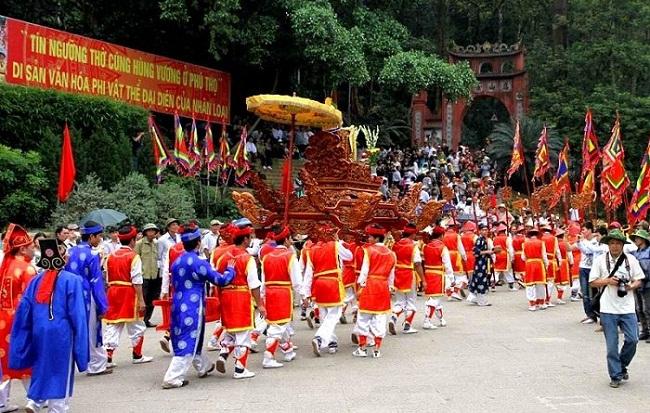 Hôm nay (12/4), Giỗ tổ Hùng Vương - Lễ hội Đền hùng năm 2019 chính thức khai hội - Ảnh 1