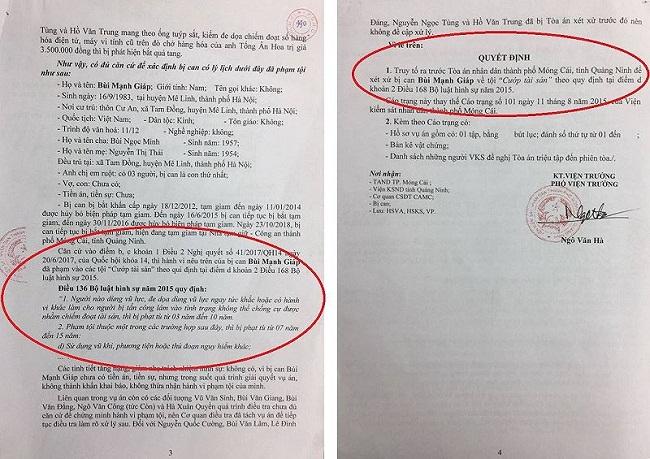 """Sai sót trong bản cáo trạng vụ cướp đò trên sông Ka Long là do """"lỗi đánh máy"""" - Ảnh 2"""