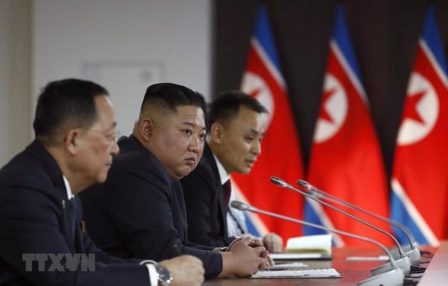 Chủ tịch Kim Jong-un mời Tổng thống Valdimir Putin sang thăm Triều Tiên - Ảnh 2