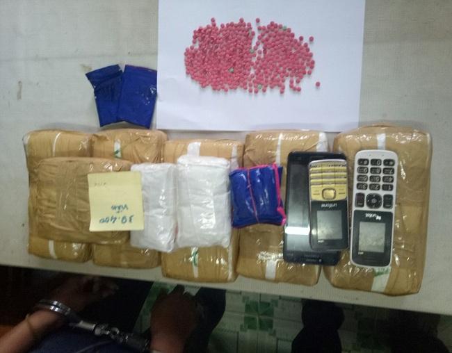 """""""Xóa sổ"""" đường dây vận chuyển gần 40.000 viên ma túy từ Lào về Việt Nam tiêu thụ - Ảnh 1"""