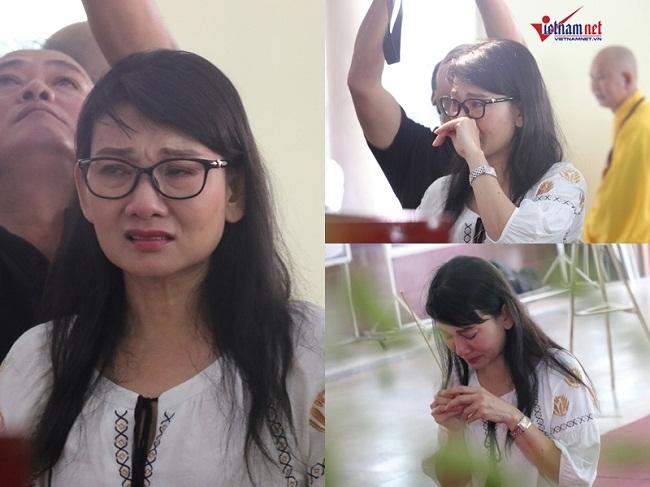 Sao Việt khóc nức nở trong đám tang cố nghệ sĩ Lê Bình - Ảnh 4