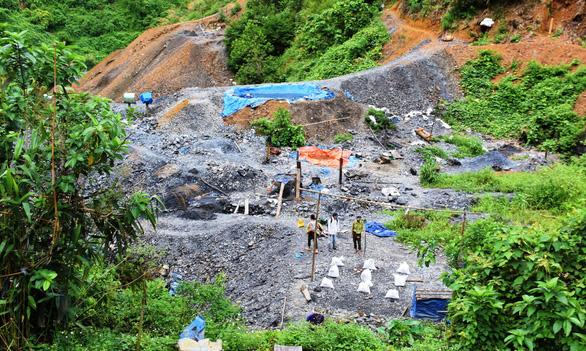 Quảng Nam: Làm rõ vụ phu vàng rơi xuống hầm tử vong - Ảnh 1