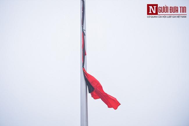 Lễ thượng cờ rủ Quốc tang nguyên Chủ tịch nước Lê Đức Anh - Ảnh 10