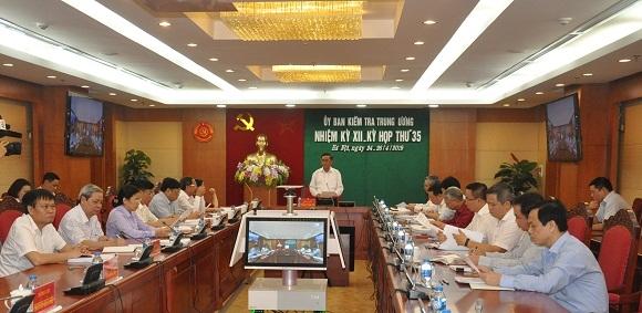 Ủy ban Kiểm tra Trung ương đề nghị xem xét, thi hành kỷ luật ông Nguyễn Bá Cảnh - Ảnh 1