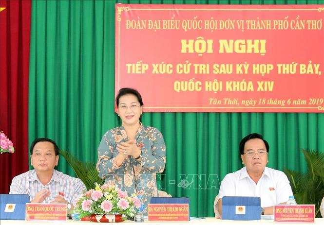 Chủ tịch Quốc hội: Khẳng định quyết tâm của Đảng, Nhà nước trong phòng chống tham nhũng - Ảnh 1