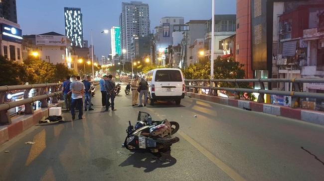 Tin tức tai nạn giao thông mới nhất hôm nay 22/6/2019: Va chạm với ô tô, 1 người tử vong - Ảnh 1