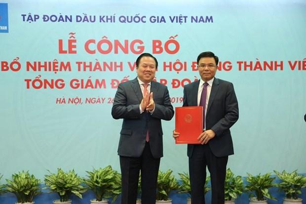 Bổ nhiệm ông Lê Mạnh Hùng giữ chức Tổng Giám đốc Tập đoàn Dầu khí Việt Nam - Ảnh 1