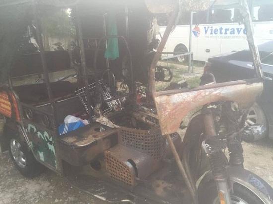 Bị bén lửa toàn thân sau tai nạn, cụ ông thương binh vẫn cố cứu con gái 6 tuổi - Ảnh 2
