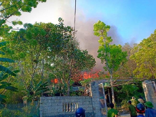 Khởi tố người phụ nữ đốt cỏ ruộng gây nên vụ cháy rừng nghiêm trọng tại Hà Tĩnh - Ảnh 2
